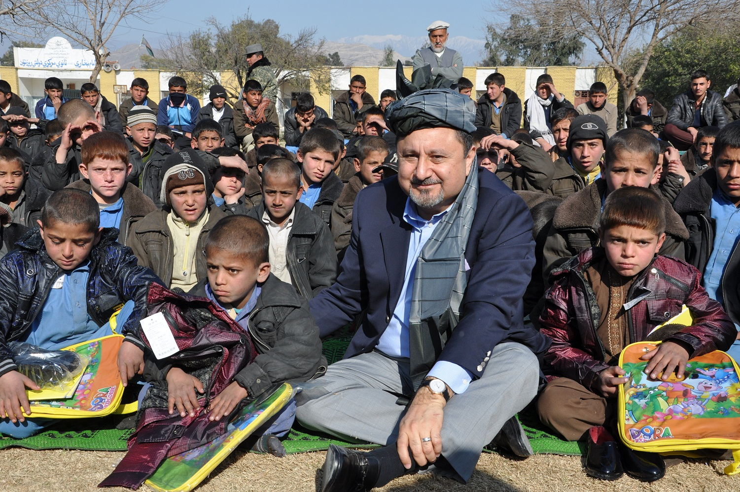 support for orphanages bayat foundation at the tahya e maskan orphanage in kabul founders ehsan and fatema bayat donated a new