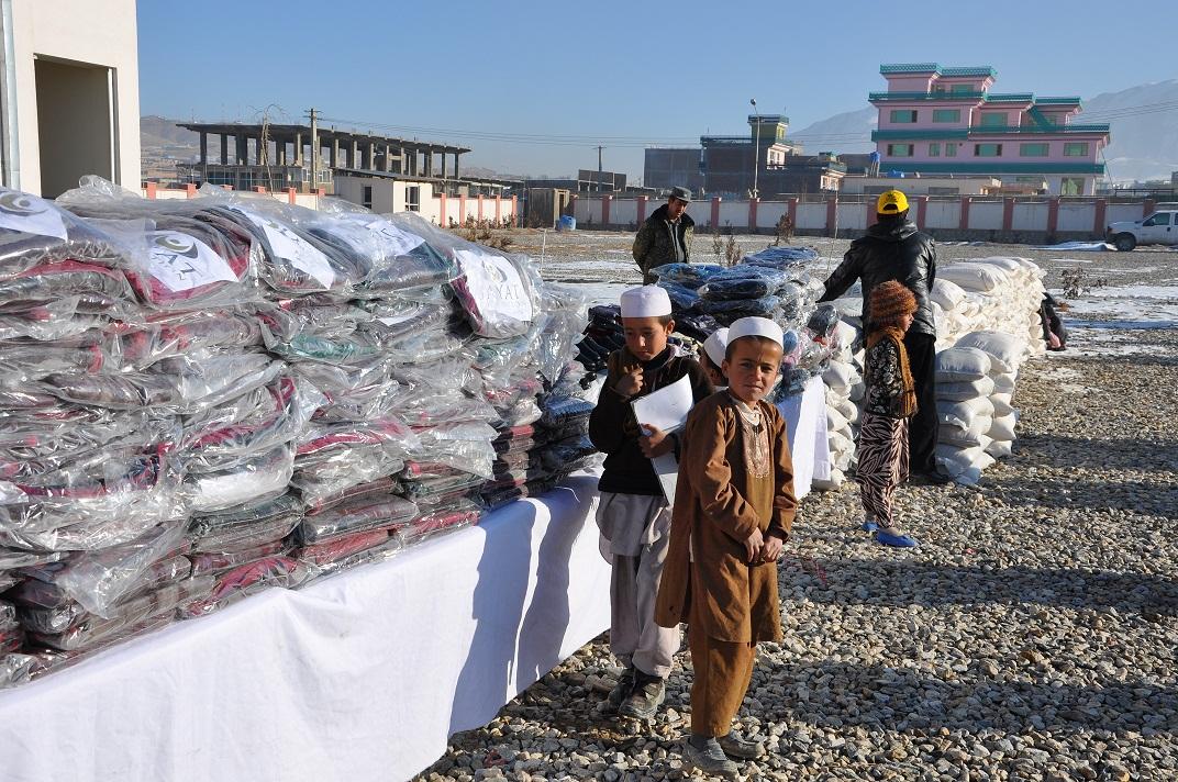 Maidan Wardak Winter Aid program 6