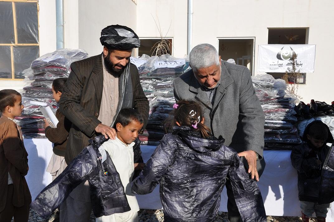 Maidan Wardak Winter Aid program 7